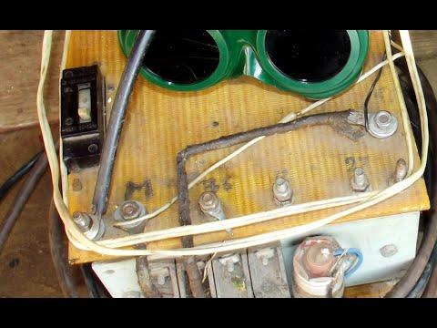 Контактная сварка своими руками для ремонта авто из латра