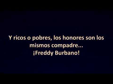 Letra De qu� me presumes - Freddy Burbano