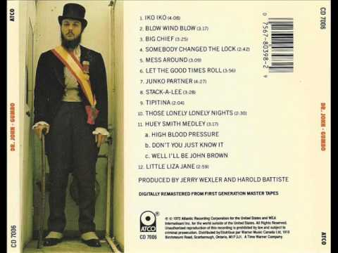 Dr John - Gumbo (1972) full album