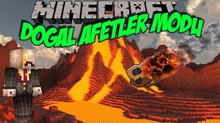 DOĞAL AFETLER MODU!! [Meteor,Deprem,Volkan] Minecraft Mod İncelemeleri - Bölüm 18