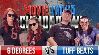 6 Degrees VS Tuff Beats LOSER BREAKS UP! - Movie Trivia Schmoedown