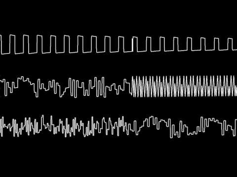 """C64 Rob Hubbards """"Commando"""" Oscilloscope view"""