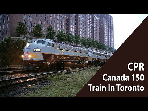 Canadian Pacific 150 Train in Toronto -...