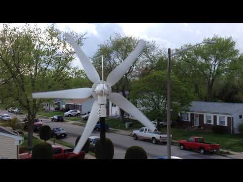 Residential wind project