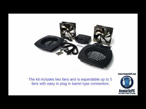Quiet Cabinet Cooling System - AV Cooling Fans - AcousticPC.com