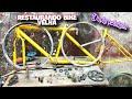 Restaurando Bicicleta Velha De Dupla Pedalada ( Dois Lugares ) Parte 01