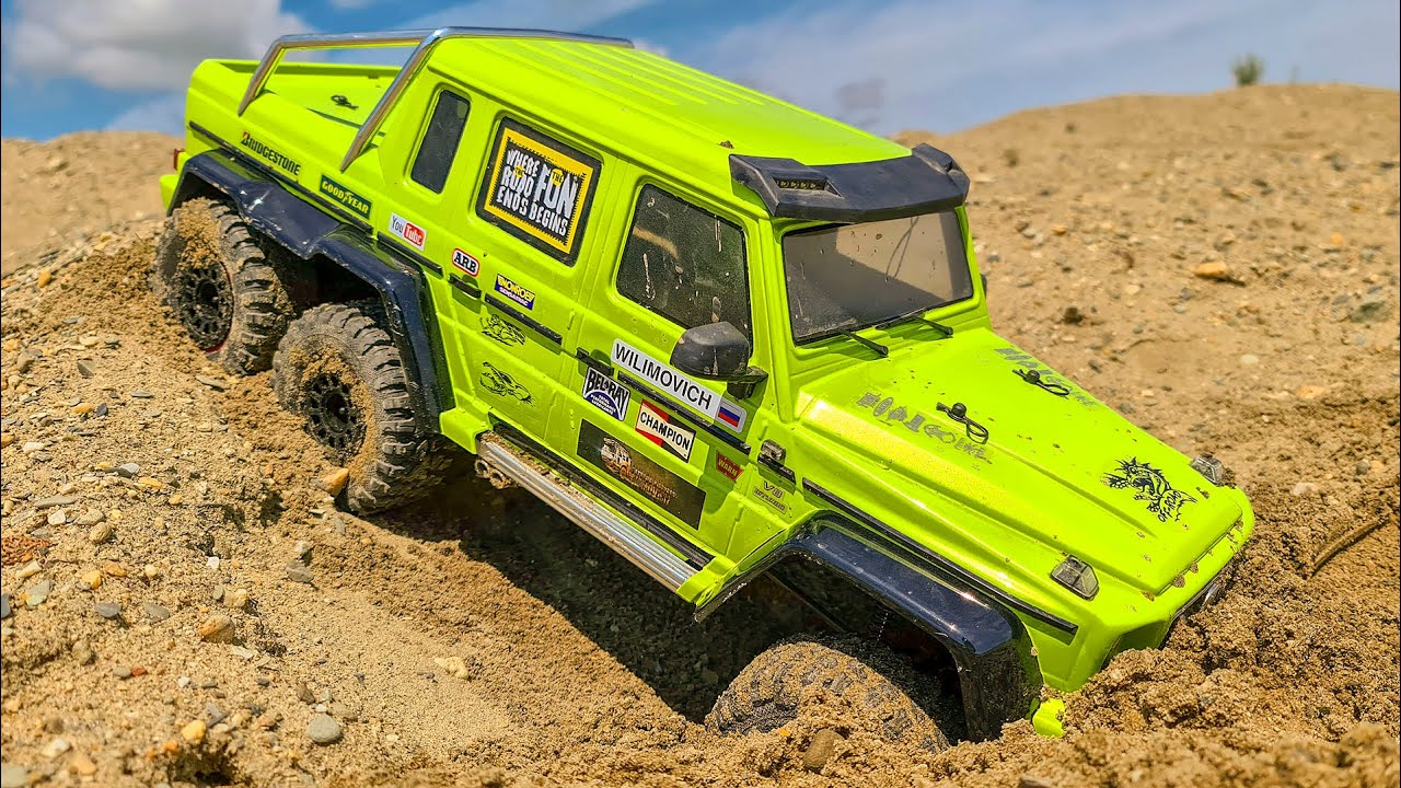 Mercedes-Benz 6x6 G63 AMG – Sand Storm Racing and Water Racing CAR – Wilimovich