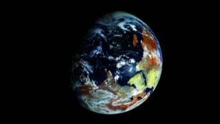 La sfera terrestre vista dal satellite russo geostazionario Elektro-L weather satellite