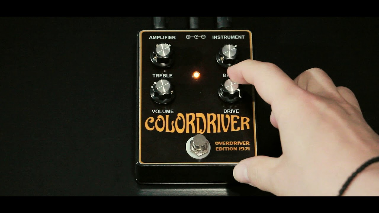 colordriver based on colorsound overdriver guitar pedal overdrive gilmour floyd nirvana youtube. Black Bedroom Furniture Sets. Home Design Ideas