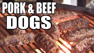 Pork and Beef Dogs recipe by the BBQ Pit Boys