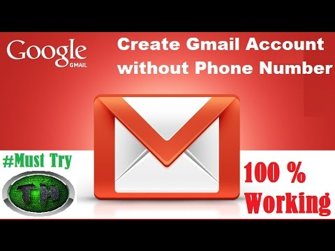 Create Gmail Account Without Mobile Number Verification