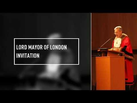 Lord Mayor of London invitation