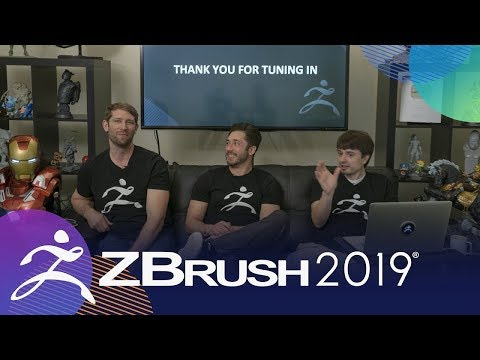 ZBrush 2019 World Premiere - Streaming Event Full Broadcast