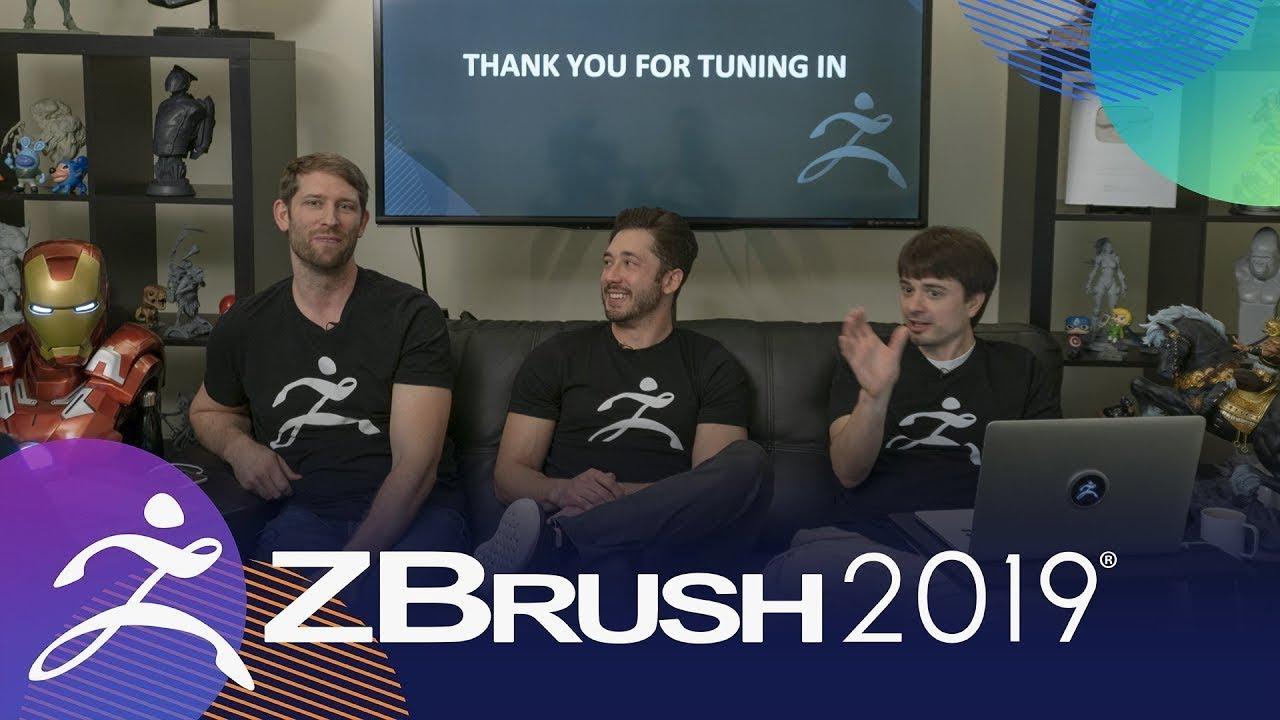ZBrush 2019 Keynote – Pixologic : ZBrushLIVE
