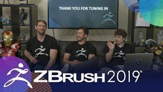 zbrush 2019 stream!