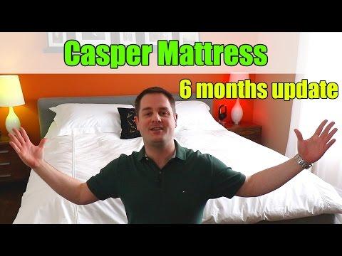 Casper Mattress 6 MONTHS UPDATE / FOLLOW UP REVIEW + REBATE COUPON!