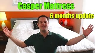 Casper Mattress 6 MONTHS UPDATE / FOLLOW UP REVIEW + REBATE COUPON!(, 2017-03-19T17:00:06.000Z)