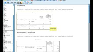 Interpret SPSS output for correlations Pearson&#39s r