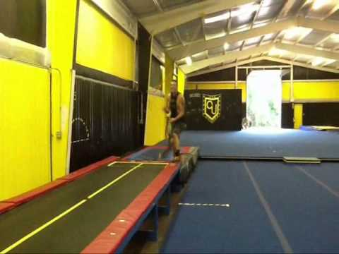A Year of Tumbling (Krissa Gaines 9-10 years old)