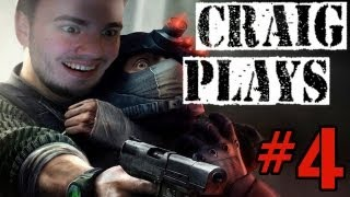Craig Plays | Splinter Cell Conviction | Part 4 - SO MUCH FAIL