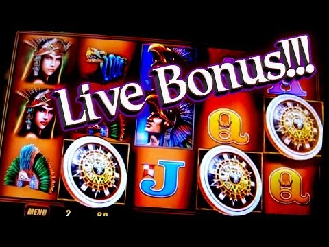 Montezuma Play Live Bonus - 1c WMS Video Slots - 동영상