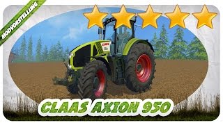 RICHTIG FETTER CLAAS! Danke CZECH MOD TEAM! CLAAS Axion 950 Mod für Landwirtschafts Simulator 15