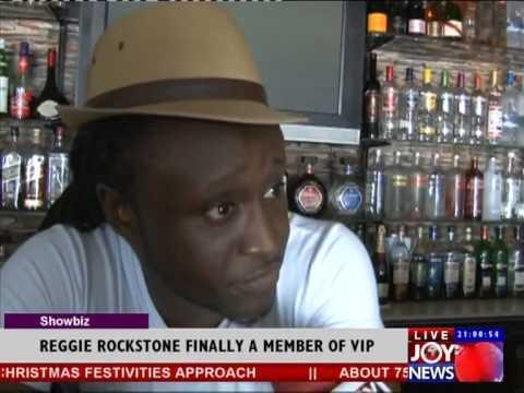 Confirmed Reggie Rockstone is finally a member of V I P