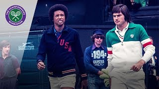 Arthur Ashe v Jimmy Connors: Wimbledon Final 1975 (Extended Highlights)