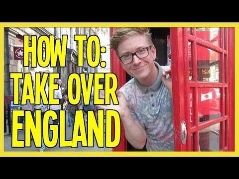 Tyler Oakley Takes England