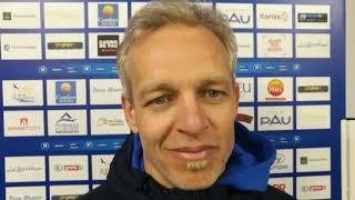 Réaction de Bruno Irles après Pau FC - Avranches (2-0)