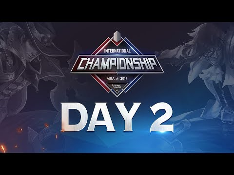 Arena of Valor International Championship: Asia 2017 Day 2