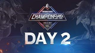 Arena of Valor International Championship: Asia 2017 Day 2