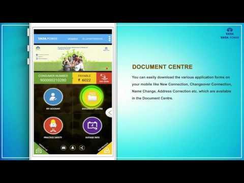 Tata Power Mobile App Tutorial