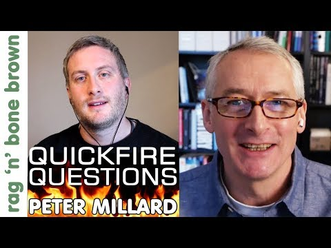 QUICKFIRE QUESTIONS with Peter Millard (10 Minute Workshop) Interview
