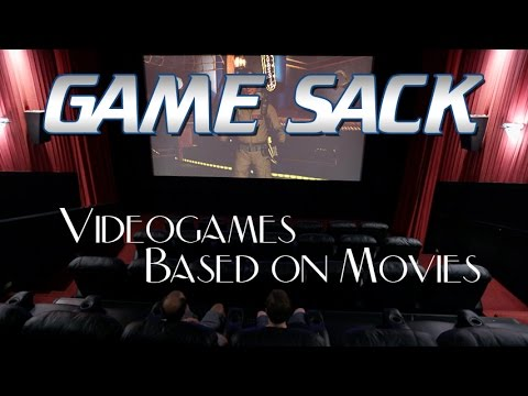 Game Sack  Videogames Based on Movies