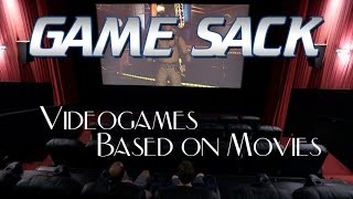 Videogames Based On Movies - Game Sack