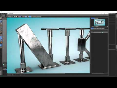 Dirty Metal Weld (Cinema 4D Tutorial)