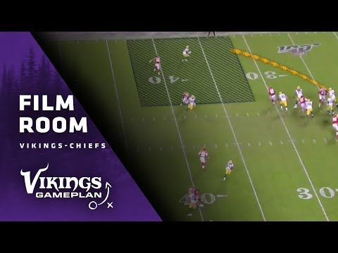 Film Room: How The Minnesota Vikings May Look To Attack The Blitz-Happy Kansas City Chiefs' Defense