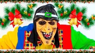 Auguri di Natale 2015 - Clown Alex si trasforma in una strega - Canzoni di natale per bambini