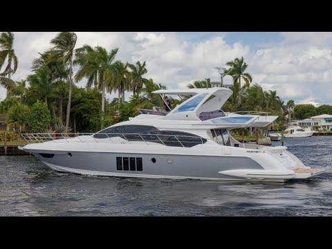 2016 Azimut 64 Flybridge Yacht For Sale at MarineMax Pompano Yacht Center