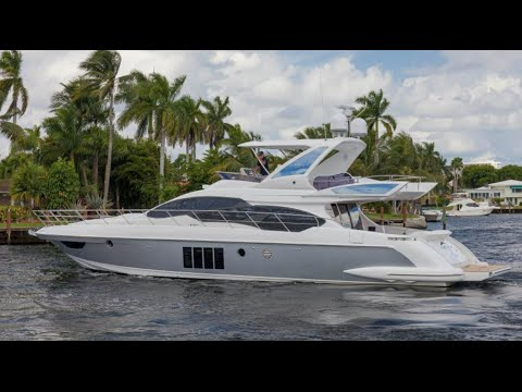 2016 Azimut 64 Flybridge Yacht For Sale at MarineMax Pompano Yacht ...