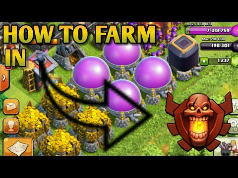 COC TH 10 BEST FARMING STRATEGY 2018 | TH 10 VS TH11 | CLASH OF CLANS