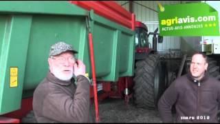 Alain et Rémi Renard donnent leur avis sur la bétaillère Beiser tout acier