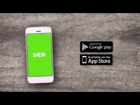 SEB mobiilipank on lihtne, mugav ja turvaline rakendus