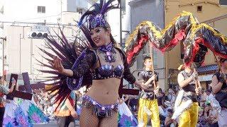【浅草サンバカーニバル2018】Asakusa Samba Carnaval 2018 ノーカット...