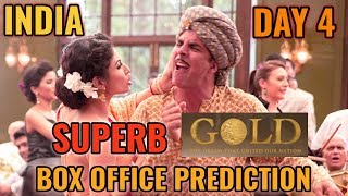 gold movie 1st weekend collection