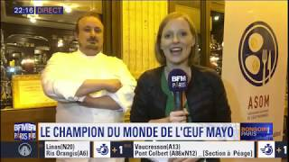 L'oeuf mayo du Bouillon Pigalle par Clément Chicard devient champion du monde!