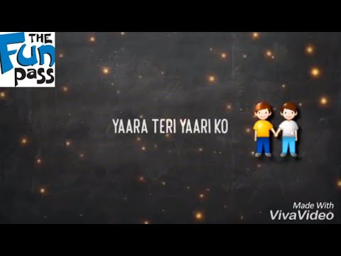 Yaara Teri Yaari Ko Maine Toh Khuda Mana | WhatsApp Status Video Song