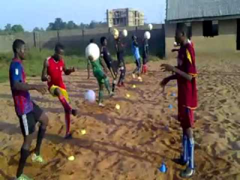 osfa academy football videos Nigeria full training program