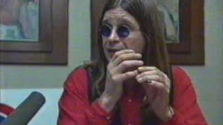 Ozzy Osbourne interview 1-CZ 1996.